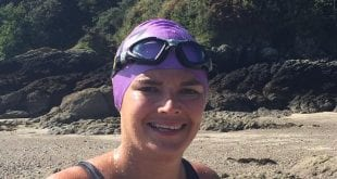 T Cribb, Funeral Director, Swim, English Channel