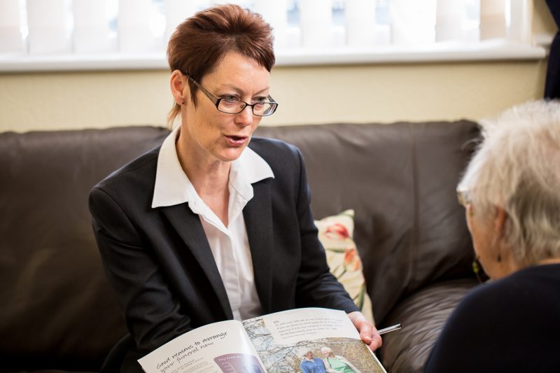 Maria Leach, an Essex-based Funeral Director working for the East of England Co-op