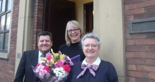 AgfaPhoto: from left: Frank Rigby, Helen Wathall and Wendy Booth
